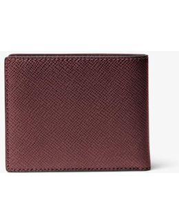 Harrison Slim Leather Billfold Wallet