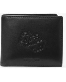 Las Vegas Embossed-leather Billfold Wallet