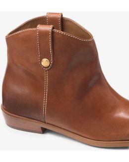Ashton Leather Ankle Boot