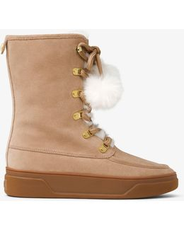 Juno Suede And Fur Boot