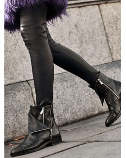 Andi Leather Ankle Boot