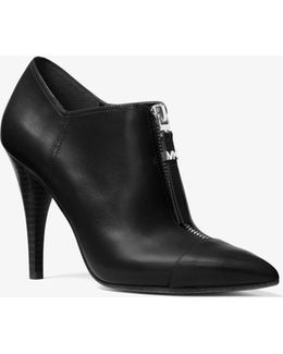 Andi Leather Bootie