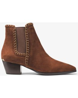 Broderick Suede Ankle Boot