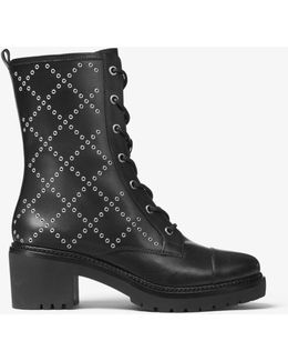 Cody Grommeted Leather Boot