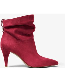 Carey Suede Ankle Boot