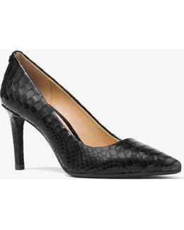 Dorothy Embossed-leather Pump