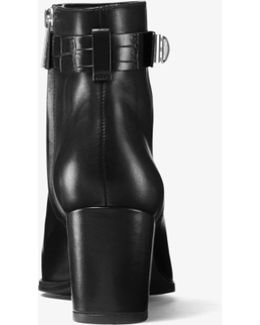 Julianna Leather Ankle Boot