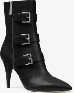 Lori Leather Ankle Boot