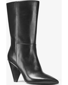 Lizzy Leather Mid-calf Boot
