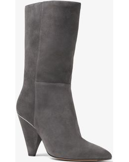 Lizzy Suede Mid-calf Boot