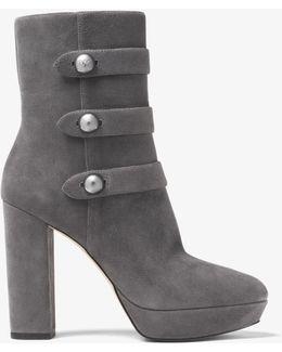 Maisie Suede Platform Ankle Boot