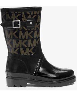 Logo Rubber Rain Boot