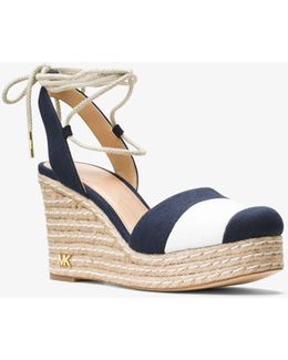 Ivy Closed-toe Wedge