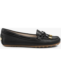 Daisy Leather Moccasin
