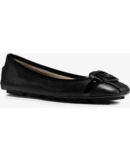 Fulton Leather Contrast Moccasin