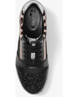 Billie Glitter And Leather Sneaker