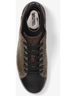 Scout Leather And Logo Sneaker