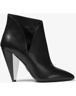 Angelina Calf Leather Ankle Boot