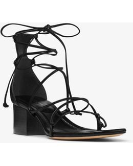 Ayers Lace-up Leather Sandal