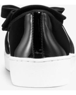 Val Patent Leather Slip-on Sneaker