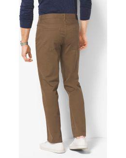 Slim-fit Stretch-twill Trousers