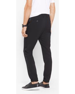 Stretch Tuxedo Track Pants