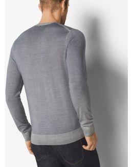 Washed Merino Wool Sweater