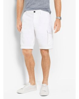 Cotton-twill Cargo Shorts
