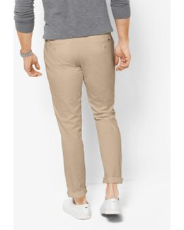 Skinny-fit Cotton Chinos
