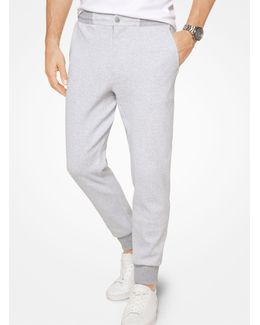 Tailored-fit Cotton Joggers