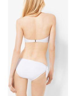 Tie-front Bandeau Bikini