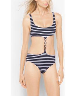 Striped Monokini