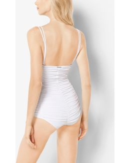 Ruched Maillot