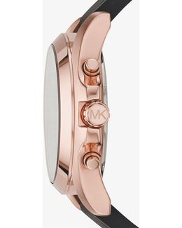 Bradshaw Rose Gold-tone And Silicone Watch