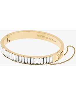 Gold-tone Baguette Bracelet