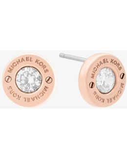 Rose Gold-tone Stud Earrings