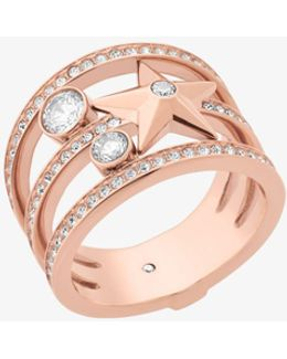 Rose Gold-tone Celestial Ring