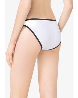 Contrast Classic Bikini Bottoms