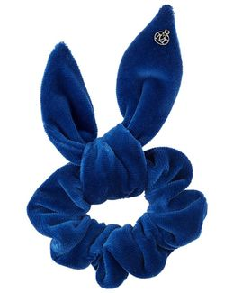 Dorothea, Blue Velvet Scrunchie