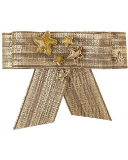Nala, Knotted Hair Clip With Golden Stars