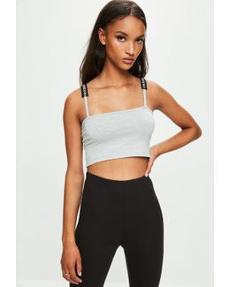 Londunn + Grey Square Neck Bralet