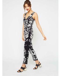 Premium Monochrome Embellished Jumpsuit