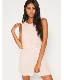Blush Drape Playsuit