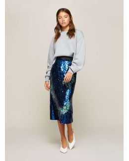 Premium Sequin Embellished Skirt