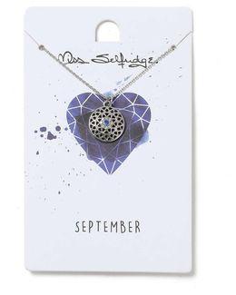 September Birthstone Necklace