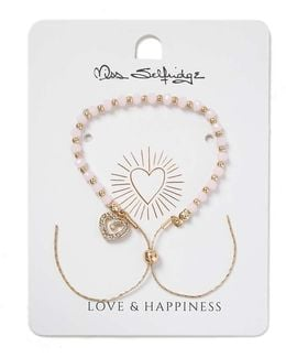Love And Happiness Charm Bracelet