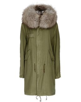 Army Fur Lined Parka