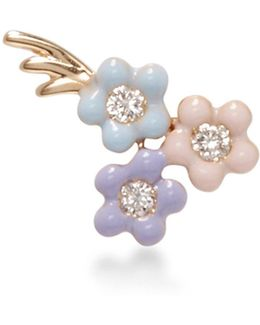 Bouquet Of Daisies Stud Earring