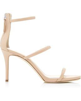 Pink Patent Alien Sandals
