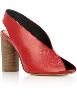 Meirid Patent-leather Sandals
